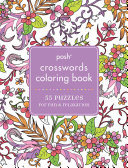Posh Crosswords Adult Coloring Book