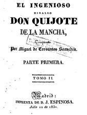 El Ingenioso hidalgo don Quijote de la Mancha: Volumen 2