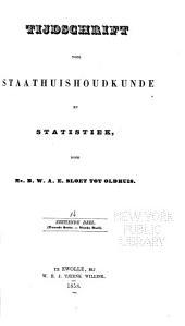 Tijdschrift voor staathuishoudkunde en statistiek: Volume 16