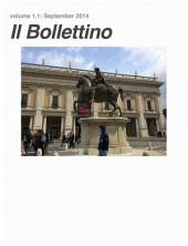Il Bollettino: a monthly digest for paroladelgiorno.com, Volume 1
