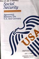 Social Security Agreement Between the U S  and Germany PDF