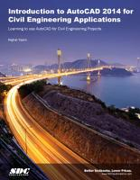 Introduction to AutoCAD 2014 for Civil Engineering Applications PDF