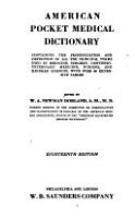 American Pocket Medical Dictionary PDF
