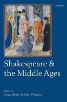 Shakespeare and the Middle Ages PDF