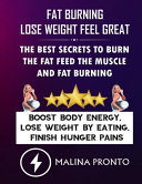 Fat Burning   Lose Weight Feel Great Book
