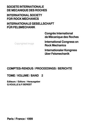 9th Intnl Congress on Rock Mech V2