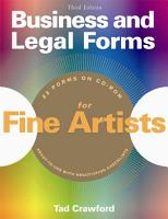 Business and Legal Forms for Fine Artists PDF