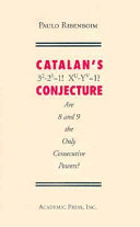 Download Catalan s Conjecture Book