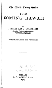 The Coming Hawaii