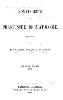 Monatsschrift f  r praktische Dermatologie PDF