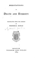 Meditations on Death and Eternity PDF