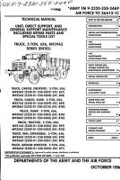Unit  Direct Support  and General Support Maintenance Including Repair Parts and Special Tools List PDF