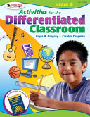 Activities for the Differentiated Classroom  Grade Four PDF