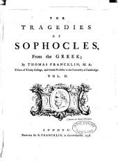 The Tragedies of Sophocles,