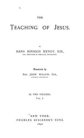 Theme of Jesus  preaching PDF