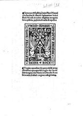 Sermones & Epistolae Quinti Flacci Horatii