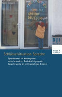 Schl  sselsituation Sprache PDF
