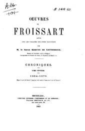 Chroniques de Froissart: 1364-1370