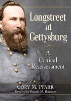 Longstreet at Gettysburg PDF