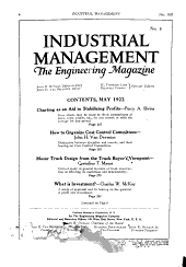 Factory and Industrial Management: Volume 63, Issue 5