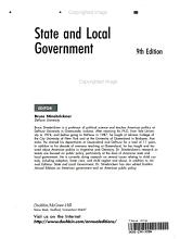 State and Local Government PDF
