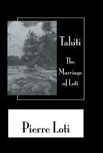 Tahiti The Marriage Of Loti