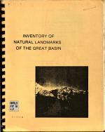 Inventory of Natural Landmarks of the Great Basin