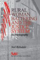 Rural Women Battering and the Justice System PDF