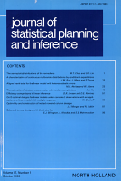 Journal of Statistical Planning and Inference PDF