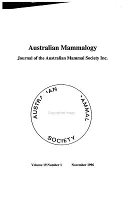 Australian Mammalogy PDF