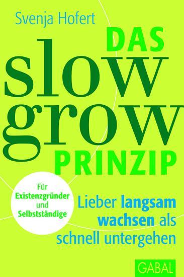 Das Slow Grow Prinzip PDF