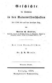 Geschichte der Fortschritte in den Naturwissenschaften seit 1789 bis auf den heutigen Tag: Band 4