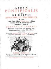 Liber Pontificalis Seu De Gestis Romanorum Pontificum: Volume 2