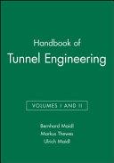 Handbook of Tunnel Engineering PDF