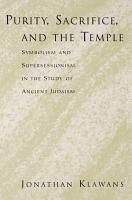 Purity  Sacrifice  and the Temple PDF