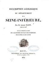 Description géologique du département de la Seine-Inférieure