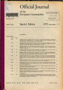 Download Official Journal of the European Communities Book
