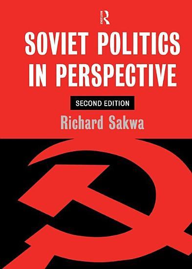 Soviet Politics PDF
