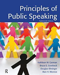 Principles of Public Speaking Book
