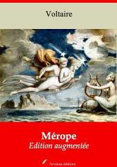 Mérope: Nouvelle édition augmentée