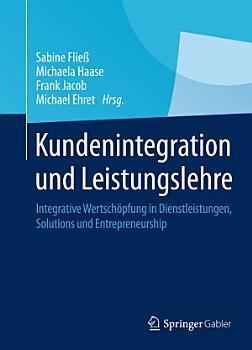 Kundenintegration und Leistungslehre PDF