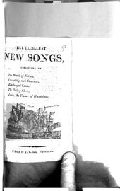 Five excellent new songs, consisting of The death of Nelson [&c.].