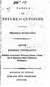 Fabula de Psyche et Cupidine: Disqvisitio mythologica