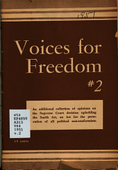 Voices for Freedom PDF