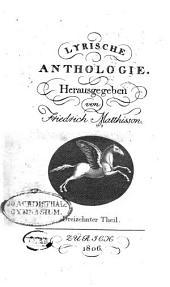 Lyrische Anthologie: Bände 13-14