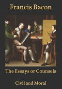 The Essays Or Counsels PDF