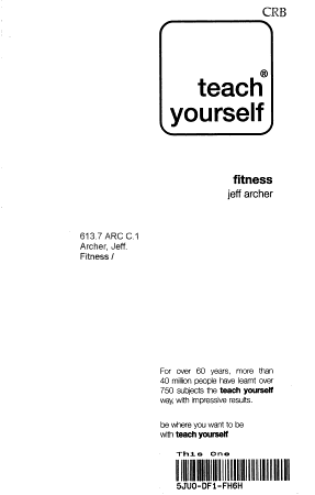 Teach Yourself Fitness PDF