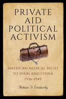 Private Aid  Political Activism PDF