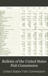 Bulletin of the United States Fish Commission: Volume 4