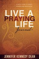 Live a Praying Life Journal Book